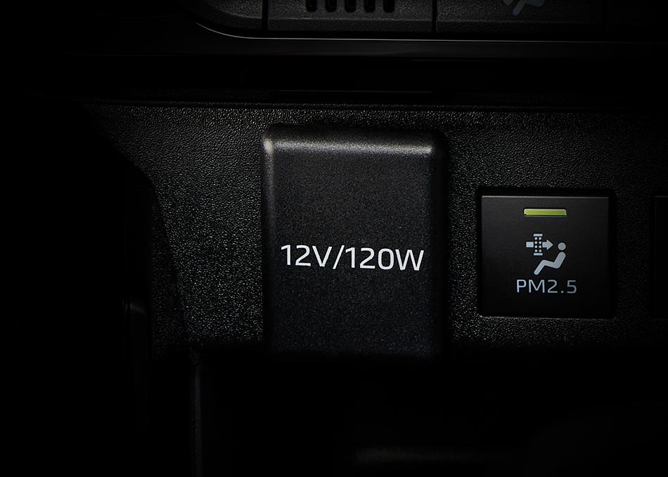 หน้าจอสัมผัสขนาด 6.7 นิ้ว รองรับ Apple CarPlay และ Android Auto
