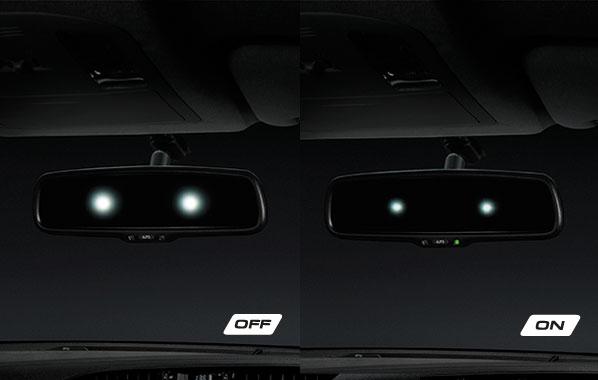 กระจกมองหลังลดแสงสะท้อนอัตโนมัติ
