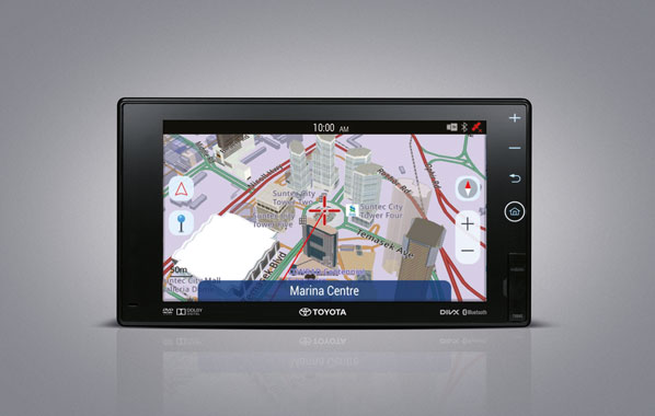 เครื่องเล่นดีวีดีอินโฟเทนเม้นท์พร้อมระบบนำทาง (หน้าจอ 8 นิ้ว)