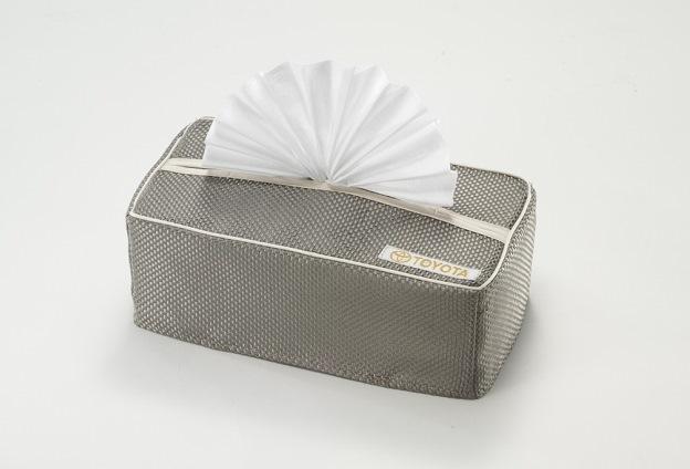 ผ้าคลุมกล่องกระดาษทิชชู่ (แบบสปอร์ต)