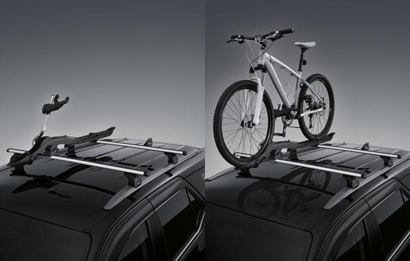 ชุดขายึดจับจักรยานบนหลังคารถ