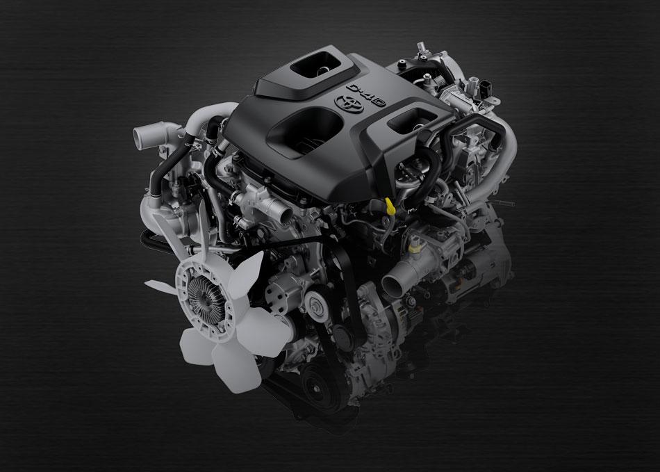 เครื่องยนต์ GD 2.8 ลิตร ขุมพลังเครื่องยนต์ประสิทธิภาพสูง และประหยัดน้ำมันดีเยี่ยม พร้อมรองรับน้ำมันดีเซล B20