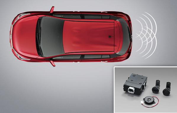 สัญญาณเตือนกะระยะท้ายรถ / Back Sensor
