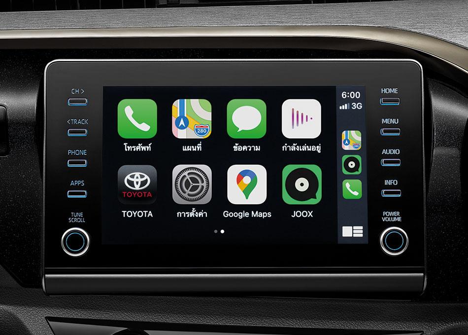 ใหม่ เครื่องเสียง รองรับ Apple CarPlay รองรับทุกความบันเทิง พร้อมฟังก์ชั่นอำนวยความสะดวกครบครัน
