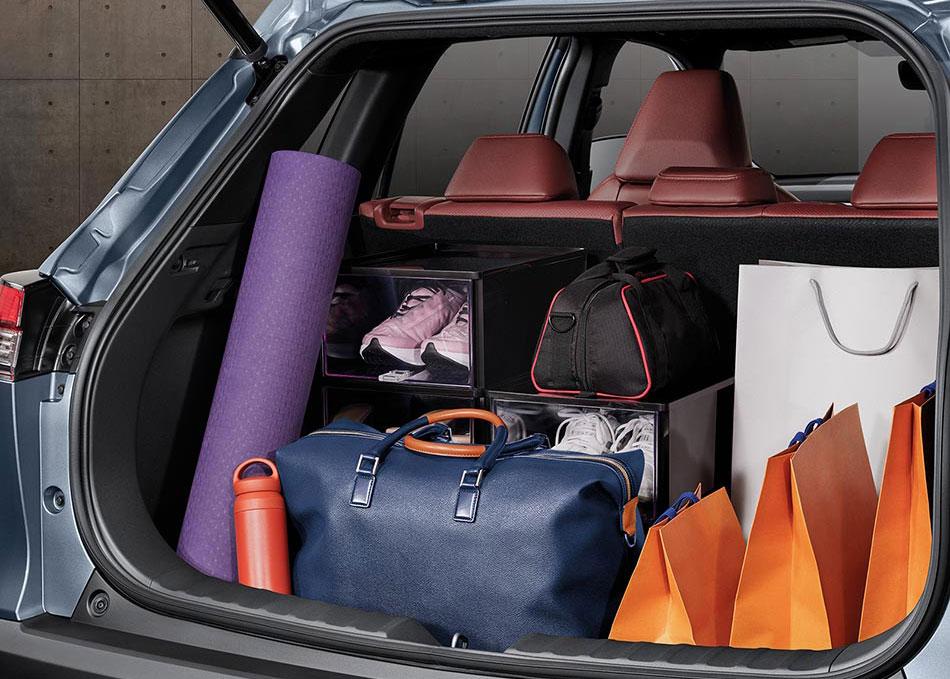 พื้นที่เก็บสัมภาระสำหรับทุกการเดินทาง ความจุมากถึง 487 ลิตร Sporty Journey เพื่อการเดินทางกับไลฟ์สไตล์ที่เป็นคุณ