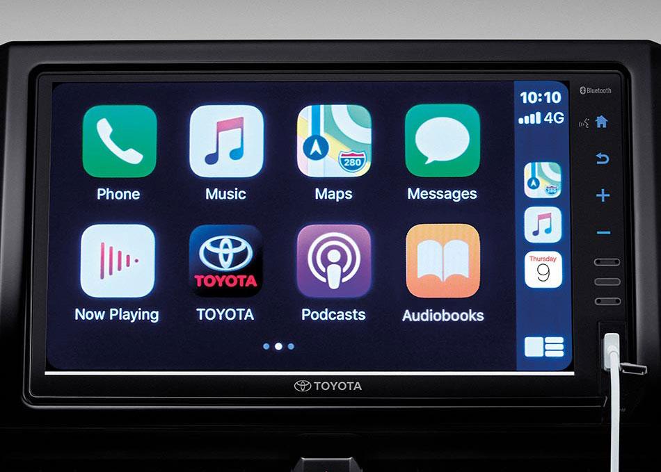 หน้าจอสัมผัสขนาด 9 นิ้ว รองรับ Apple CarPlay Bluetooth และ USB