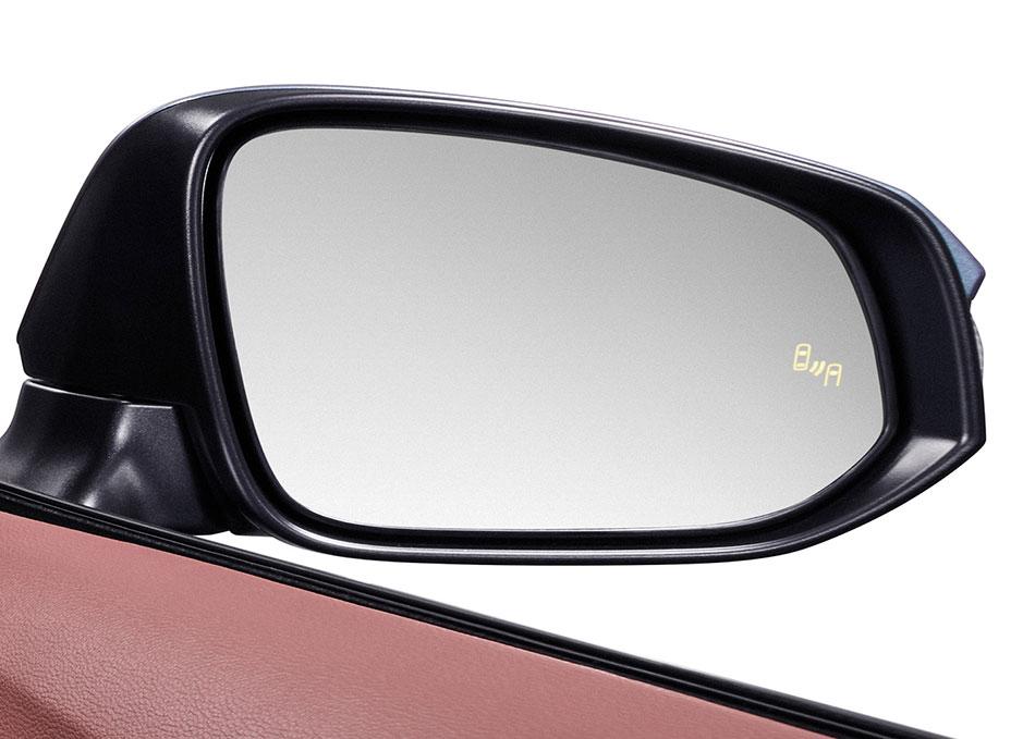 Blind Spot Monitor ระบบช่วยเตือนมุมอับสายตาที่กระจกมองข้าง