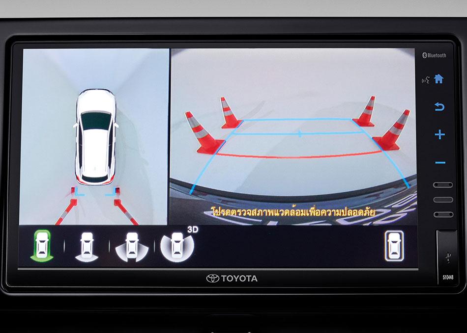Panoramic View Monitor (360 ํ View) กล้องมองรอบคัน พร้อมมุมมองแบบ 3D View