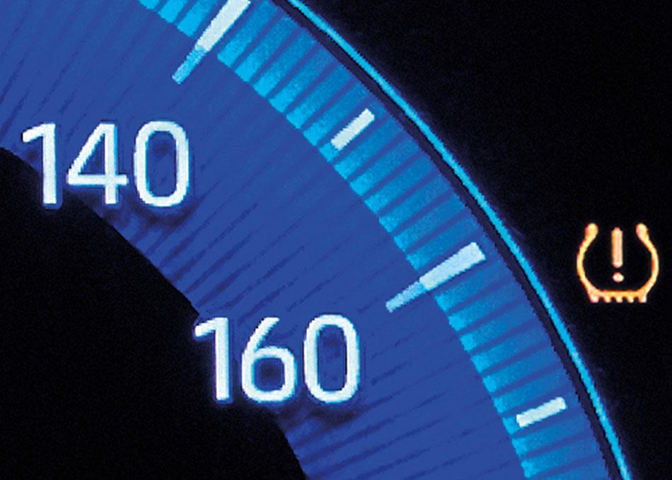 Tire Pressure Monitoring System ระบบแจ้งเตือนเมื่อลมยางผิดปกติ