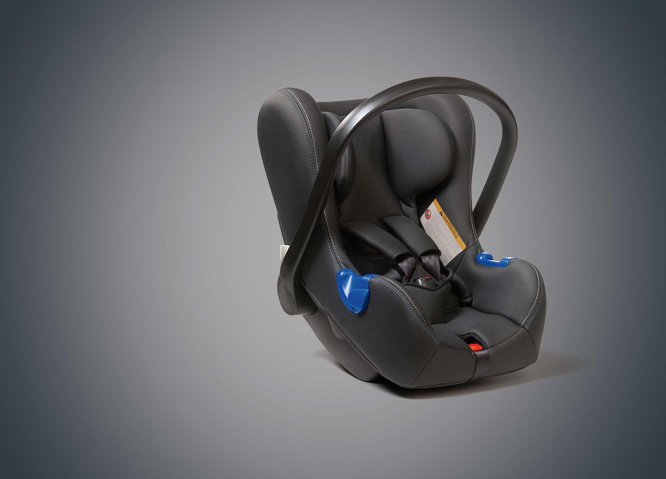 เบาะนั่งนิรภัยสำหรับเด็ก แรกเกิด (Seat Belt)/ Child Seat (0-15 Months)