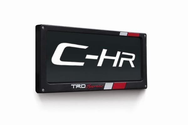 กรอบป้ายทะเบียน (แบบ TRD) / License Plate Frame (TRD)