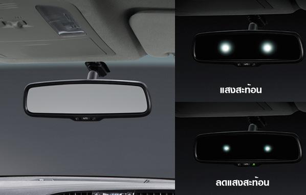 กระจกมองหลังลดแสงสะท้อนอัตโนมัติ / EC Mirror
