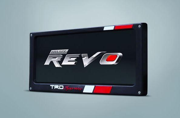 กรอกป้ายทะเบียน TRD / TRD License Plate Frame