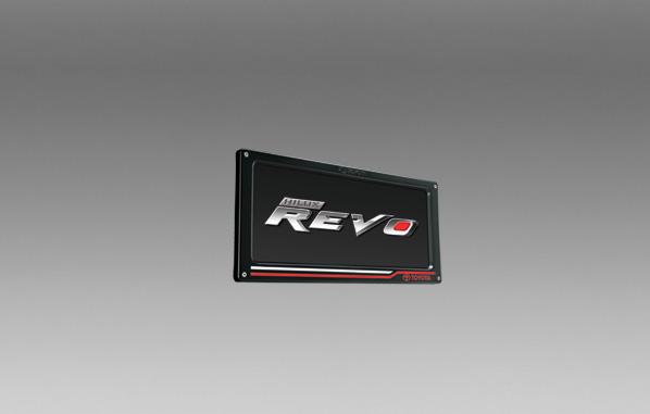 กรอบป้ายทะเบียน (ลายโตโยต้า) / License Plate Frame (Toyota Styling)