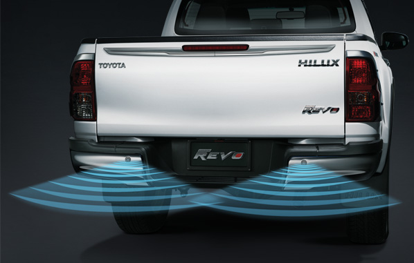 สัญญาณเตือนกะระยะท้ายรถ (4x4) / Back Sensor (4x4)