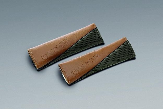 ปลอกหุ้มเข็มขัดนิรภัย (สีครีม) / Seat Belt Pad (Ivory)