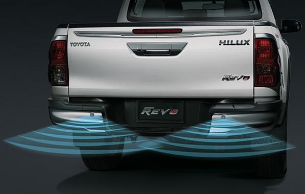 สัญญาณเตือนกะระยะท้ายรถ (พรีรันเนอร์2x4, 4x4) / Back Sensor (Pre-runner2x4, 4x4)