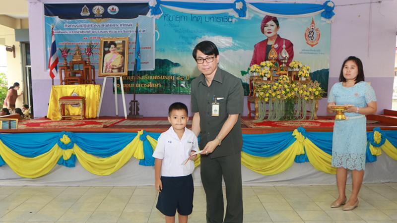 โตโยต้านนทบุรี มอบทุนการศึกษาโรงเรียนวัดสมรโกฏิ จังหวัดนนทบุรี 20,000 บาทในงานวันแม่แห่งชาติ และครบรอบ 84 ปี ของโรงเรียน
