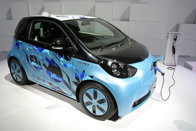 Toyota Product line : All-electric vehicles