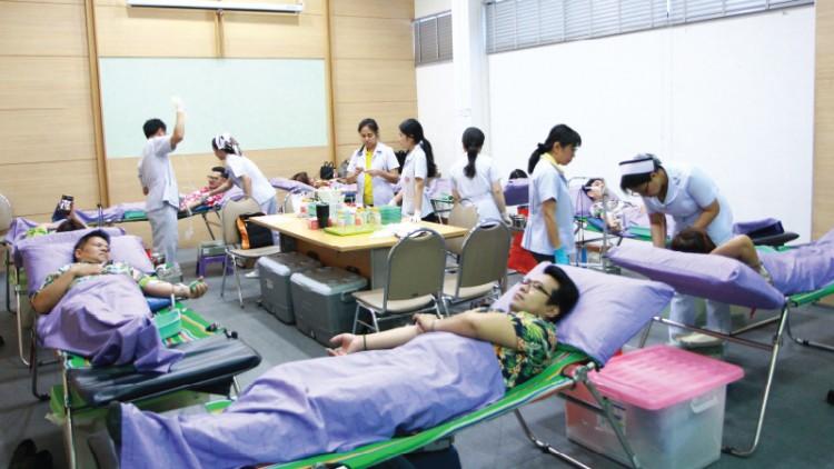 โตโยต้านนทบุรี ร่วมบริจาคโลหิตให้กับโรงพยาบาลพระนั่งเกล้า ครั้งที่ 1 ประจำปี 2562